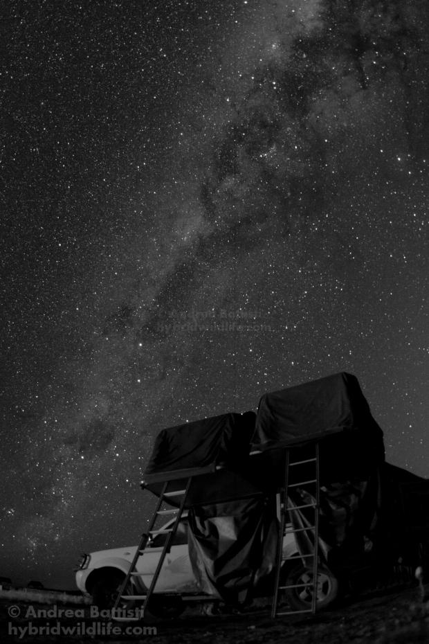 Pernottamento in deserto, dintorni di Vioolsdrift, SA - Canon 7D
