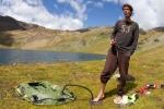 Preparativi monitoraggi lago alpino